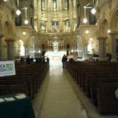 Photo taken at St. Francis Xavier Catholic Church by Mahlet on 10/29/2011