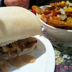 Photo taken at W Burger by DuckHyung R. on 11/1/2011