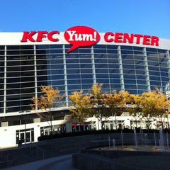 Photo taken at KFC Yum! Center by Michael P. on 11/1/2011