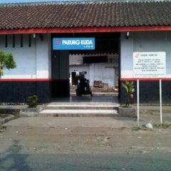 Photo taken at Stasiun Parungkuda by ardi j. on 8/18/2011