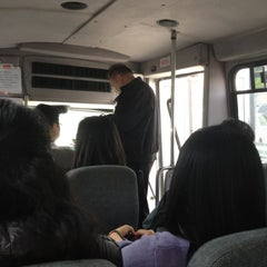 Photo taken at Chinatown Bus (Flushing) by Ernie H. on 4/14/2012
