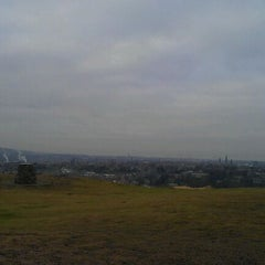 Photo taken at Blackford Hill by Cole on 1/14/2012