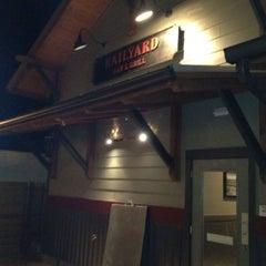Photo taken at Railyard Bar & Grill by Ryan R. on 3/12/2012