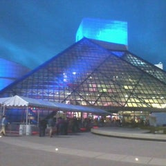 Photo taken at The Rock and Roll Hall of Fame and Museum by Steve F. on 4/14/2012