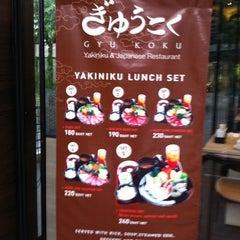 Photo taken at Shabu Yoshi (ชาบู โยชิ) by Datacha C. on 4/9/2011