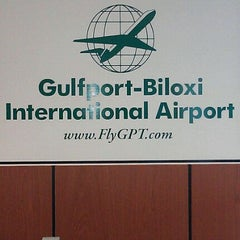 Photo taken at Gulfport-Biloxi International Airport (GPT) by Marlon D. on 10/16/2011