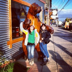 Photo taken at Plaza de Armas de Puerto Natales by Natalia R. on 5/12/2012