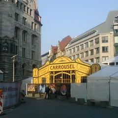 Photo taken at Burgplatz by Jens V. on 11/7/2011
