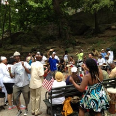 Photo taken at Marcus Garvey Park by Claire W. on 6/30/2012