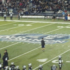 Photo taken at Foreman Field at S.B. Ballard Stadium by Anton D. on 10/2/2011