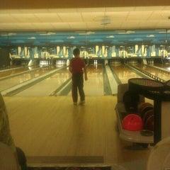 Photo taken at Lane Glo Bowl by Sarah G. on 1/16/2012