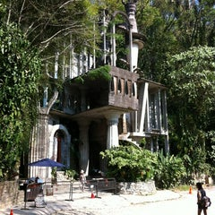 Photo taken at Jardin Edward James Xilitla by Derek C. on 4/1/2012