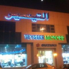 Photo taken at التيسير للسيارات by بوشهد ا. on 12/29/2011