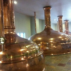 Photo taken at New Glarus Brewing Company by Brian B. on 2/5/2012