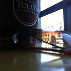 Photo taken at Tully's Coffee by saralyn b. on 4/29/2011