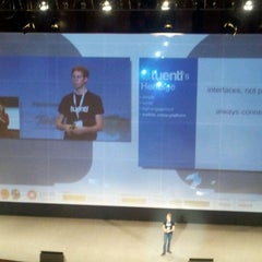 Photo taken at FICOD 2011 by Mikel R. on 11/24/2011