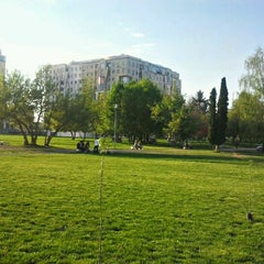 Photo taken at Parcul Centrul Civic by Valentin M. on 4/29/2012