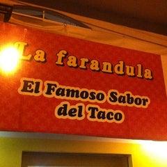 Photo taken at La Farandula by Alex H. on 3/20/2012
