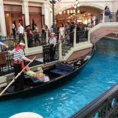 Photo taken at Venetian Canal by Marquis M. on 7/26/2012