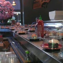 Photo taken at Sushi Sakura by Misty D. on 3/14/2012