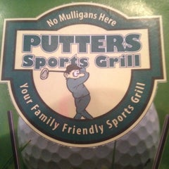 Photo taken at Putters Sports Grill by Bryan H. on 8/27/2012