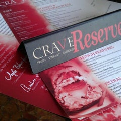 Photo taken at CRAVE Restaurant West End by Angie M. on 8/15/2012