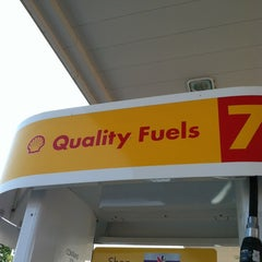 Photo taken at Shell by tiffany c. on 6/30/2012