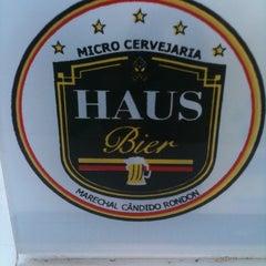 Photo taken at Haus Bier by Joel E. on 2/15/2012