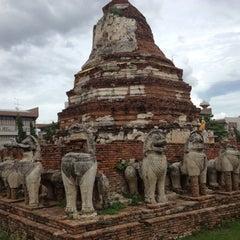 Photo taken at วัดธรรมิกราช (Wat Thammikarat) by Kaew A. on 7/1/2012