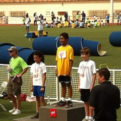 Photo taken at La Jolla High School Track by Craig A. on 5/20/2012