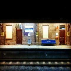 Photo taken at Flemington Station by Ainslie P. on 7/15/2012