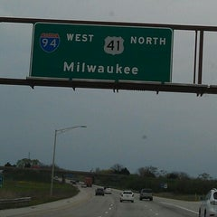 Photo taken at Wisconsin/Illinois State Line by Mark P. on 4/15/2012