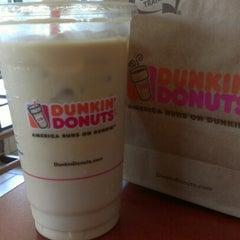 Photo taken at Dunkin Donuts by Carol K. on 7/27/2012