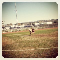 Photo taken at Culver City High School Track by Daisy T. on 4/27/2012