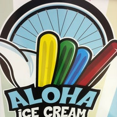 Photo taken at Aloha Pops Ice Cream Tricycle by Kathy S. on 4/20/2012