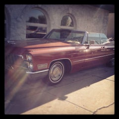 Photo taken at The Red Cadillac by Christine ✈. on 5/6/2012