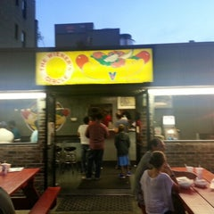 Photo taken at The Wiener's Circle by Joe C. on 8/12/2012