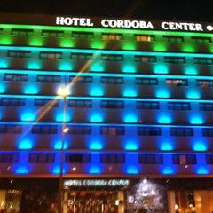 Photo taken at Hotel Córdoba Center by Patricia on 8/24/2012