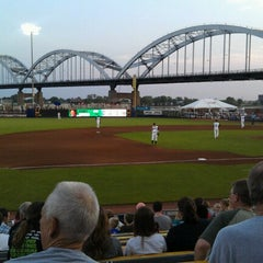 Photo taken at Modern Woodmen Park by Brandy W. on 8/24/2012