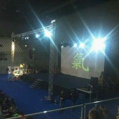 Photo taken at Sportska dvorana Varaždin by Kristijan P. on 3/8/2012