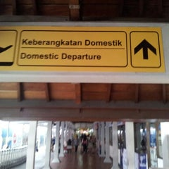 Photo taken at Domestic Terminal (DPS) by Lukman J. on 8/6/2012