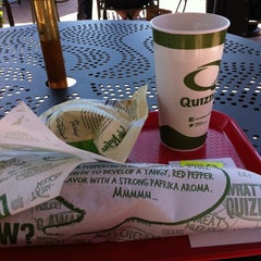 Photo taken at Quiznos by Lexington S. on 5/10/2012