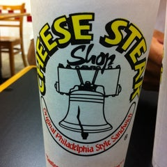 Photo taken at Cheese Steak Shop by Madie P. on 9/11/2011