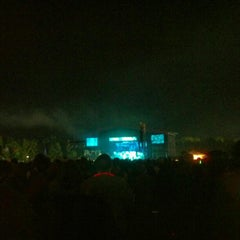 Photo taken at What Stage at Bonnaroo Music & Arts Festival by Brian W. on 6/9/2012
