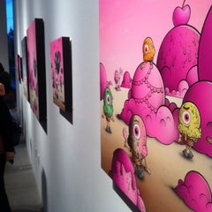 Photo taken at Corey Helford Gallery by Joe V. on 4/15/2012