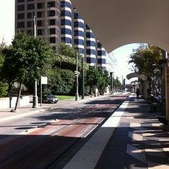 Photo taken at Pearl/Arts District Station (DART Rail) by Joe S. on 9/30/2011