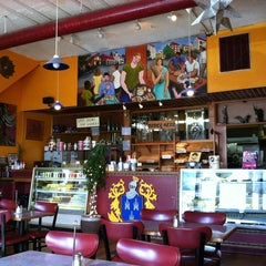Photo taken at Panes Bread Cafe by Riley B. on 5/29/2012