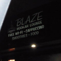 Photo taken at Blaze Hookah Lounge by John S. on 12/20/2011