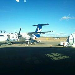 Photo taken at Dawson Creek Airport (YDQ) by Steven Y. on 10/23/2011
