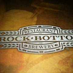 Photo taken at Rock Bottom Restaurant & Brewery by Eric W. on 8/7/2012